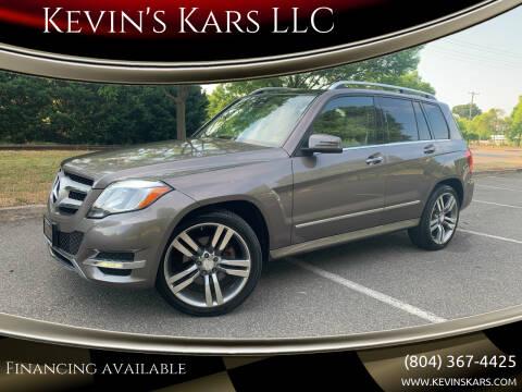 2013 Mercedes-Benz GLK for sale at Kevin's Kars LLC in Richmond VA