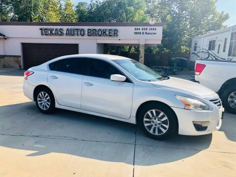 2013 Nissan Altima for sale at Texas Auto Broker in Killeen TX
