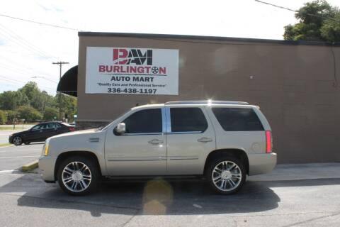 2012 Cadillac Escalade for sale at Burlington Auto Mart in Burlington NC