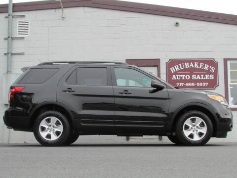 2014 Ford Explorer for sale at Brubakers Auto Sales in Myerstown PA