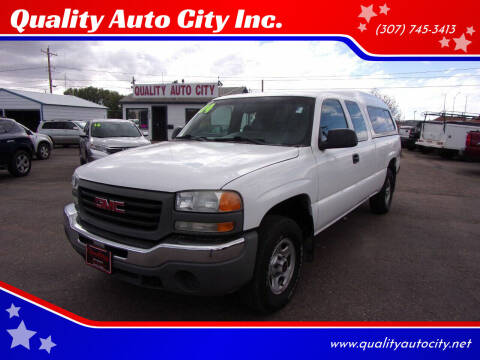 2004 GMC Sierra 1500 for sale at Quality Auto City Inc. in Laramie WY