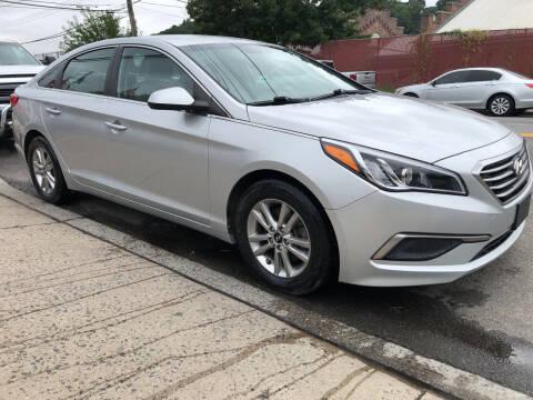 2017 Hyundai Sonata for sale at Deleon Mich Auto Sales in Yonkers NY
