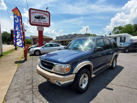 2000 Ford Explorer for sale at Ford's Auto Sales in Kingsport TN