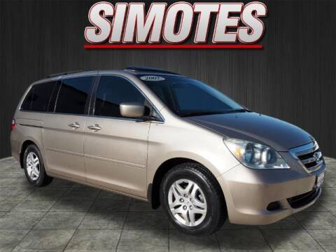 2007 Honda Odyssey for sale at SIMOTES MOTORS in Minooka IL