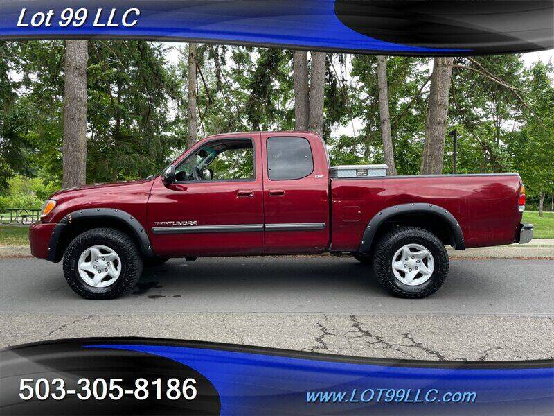 2003 Toyota Tundra for sale at LOT 99 LLC in Milwaukie OR