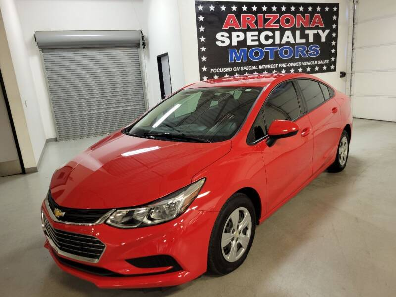 2018 Chevrolet Cruze for sale at Arizona Specialty Motors in Tempe AZ