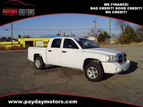 2007 Dodge Dakota for sale at Payday Motors in Wichita And Topeka KS