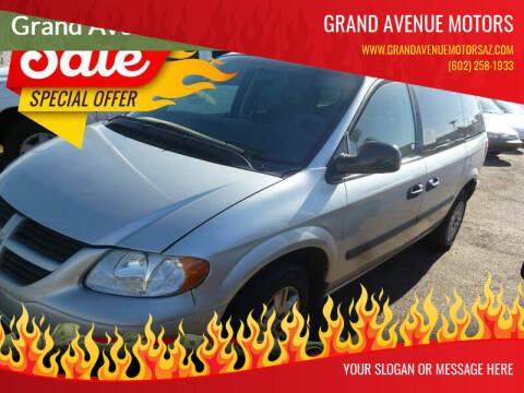 2007 Dodge Caravan for sale at Grand Avenue Motors in Phoenix AZ