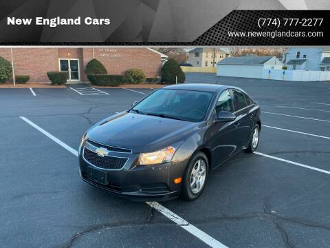 2014 Chevrolet Cruze for sale at New England Cars in Attleboro MA