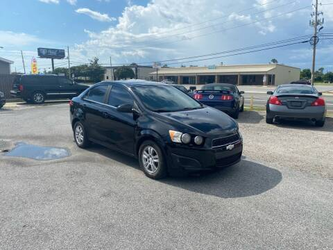 2013 Chevrolet Sonic for sale at Lucky Motors in Panama City FL
