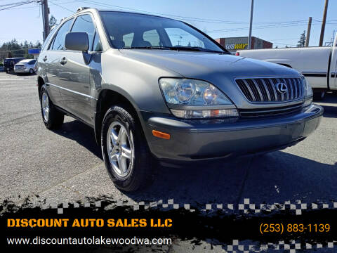 2001 Lexus RX 300 for sale at DISCOUNT AUTO SALES LLC in Lakewood WA