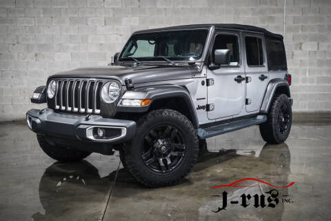 2018 Jeep Wrangler Unlimited for sale at J-Rus Inc. in Macomb MI