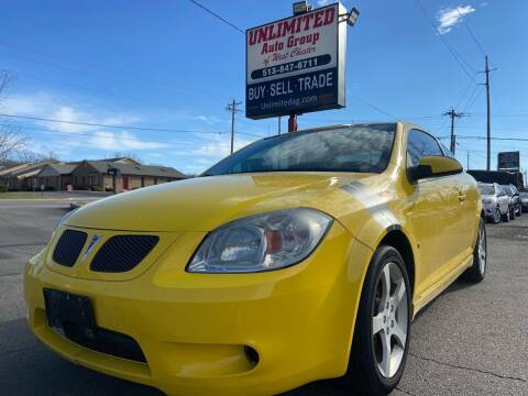 2007 Pontiac G5 for sale at Unlimited Auto Group in West Chester OH