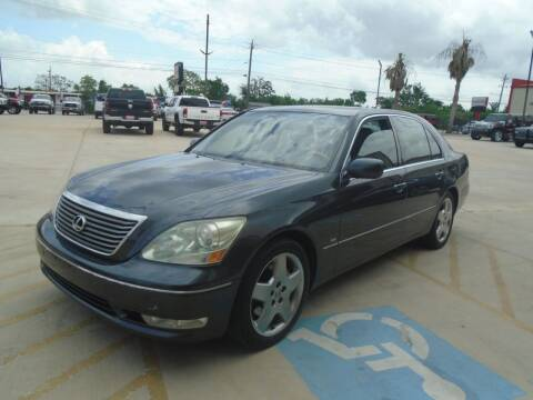 2004 Lexus LS 430 for sale at Premier Foreign Domestic Cars in Houston TX