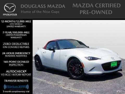 2018 Mazda MX-5 Miata for sale at Douglass Automotive Group - Douglas Mazda in Bryan TX