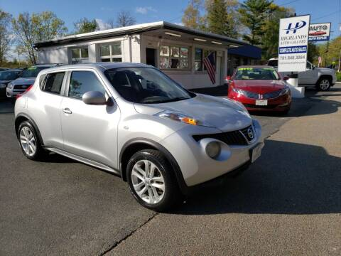 2013 Nissan JUKE for sale at Highlands Auto Gallery in Braintree MA