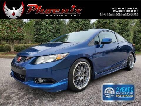 2013 Honda Civic for sale at Phoenix Motors Inc in Raleigh NC