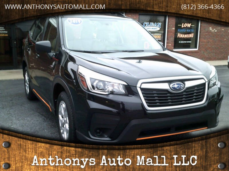 2019 Subaru Forester for sale at Anthonys Auto Mall LLC in New Salisbury IN