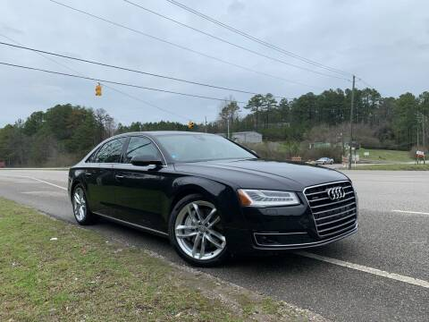 2015 Audi A8 L for sale at Anaheim Auto Auction in Irondale AL