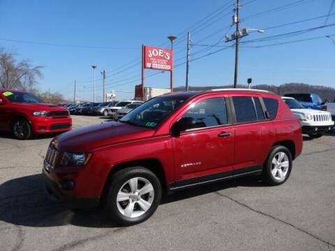 2015 Jeep Compass for sale at Joe's Preowned Autos 2 in Wellsburg WV