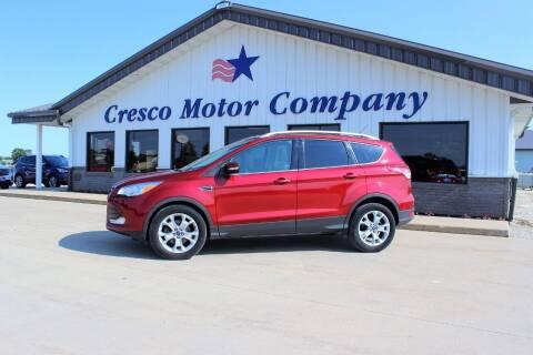 2014 Ford Escape for sale at Cresco Motor Company in Cresco IA