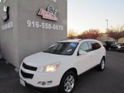 2012 Chevrolet Traverse for sale at LIONS AUTO SALES in Sacramento CA