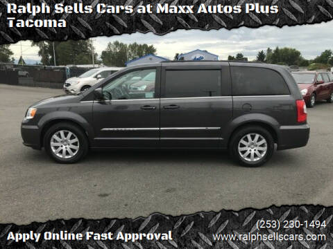 2015 Chrysler Town and Country for sale at Ralph Sells Cars at Maxx Autos Plus Tacoma in Tacoma WA