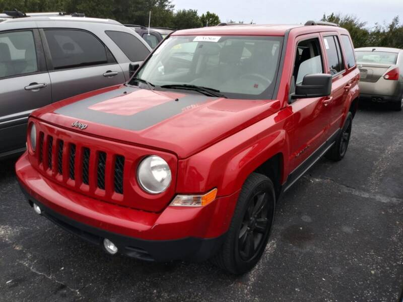 2016 Jeep Patriot for sale at Tony's Auto Sales in Jacksonville FL