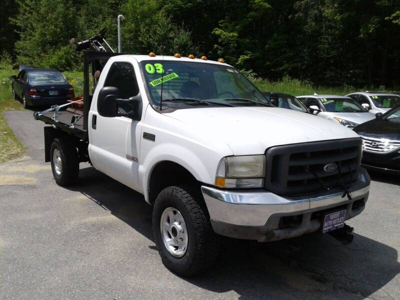 2003 Ford F-350 Super Duty for sale at Quest Auto Outlet in Chichester NH