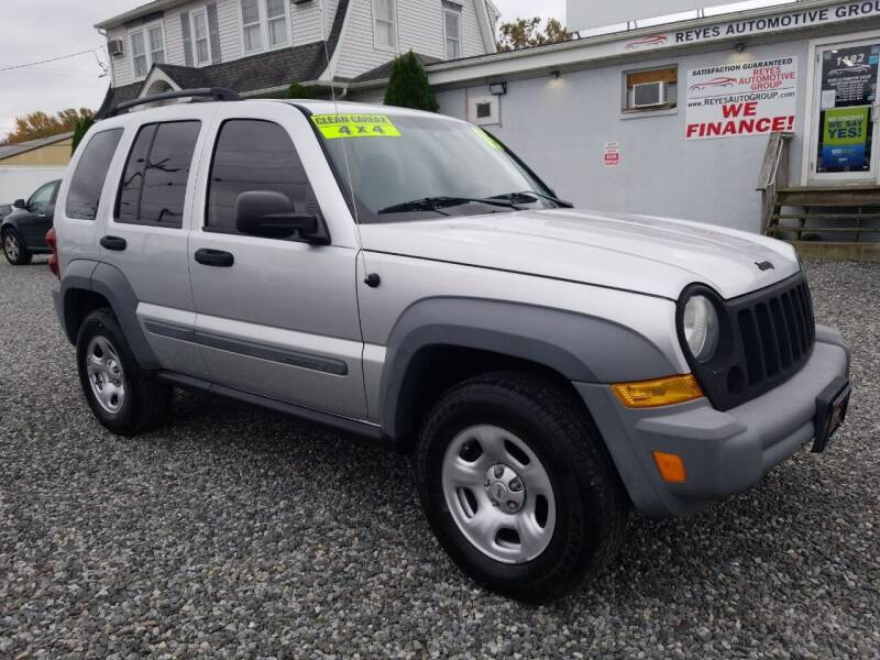 2005 Jeep Liberty for sale at Reyes Automotive Group in Lakewood NJ