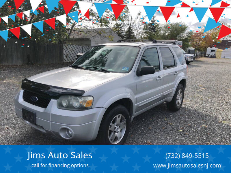 2005 Ford Escape for sale at Jims Auto Sales in Lakehurst NJ