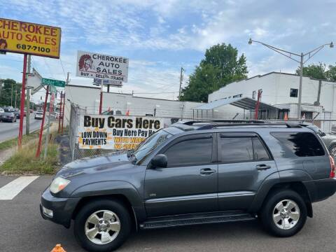 2004 Toyota 4Runner for sale at Cherokee Auto Sales in Knoxville TN