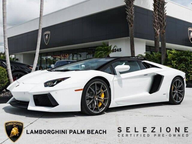 2014 Lamborghini Aventador for sale in West Palm Beach, FL