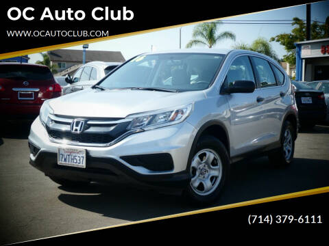 2016 Honda CR-V for sale at OC Auto Club in Midway City CA