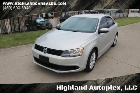 2011 Volkswagen Jetta for sale at Highland Autoplex, LLC in Dallas TX