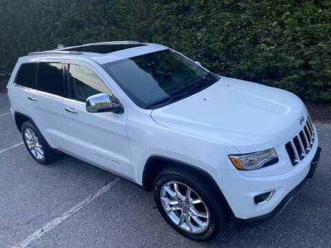 2014 Jeep Grand Cherokee for sale at Limitless Garage Inc. in Rockville MD