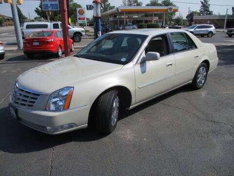 2010 Cadillac DTS for sale at Premier Auto in Wheat Ridge CO