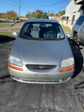 2004 Chevrolet Aveo for sale at Country Auto Sales Inc. in Bristol VA