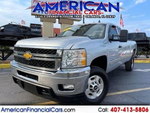 2013 Chevrolet Silverado 2500HD for sale at American Financial Cars in Orlando FL