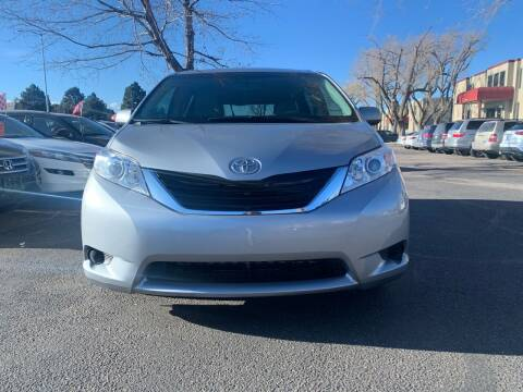 2014 Toyota Sienna for sale at Global Automotive Imports of Denver in Denver CO