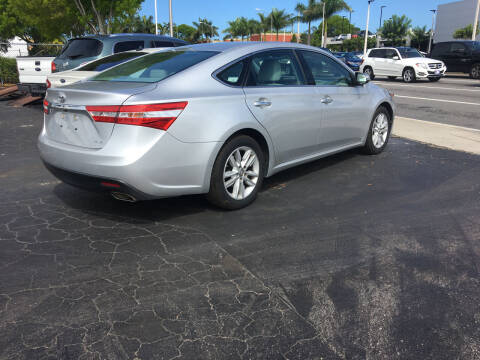 2013 Toyota Avalon for sale at CAR-RIGHT AUTO SALES INC in Naples FL