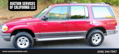 1996 Ford Explorer for sale at AUCTION SERVICES OF CALIFORNIA in El Dorado CA