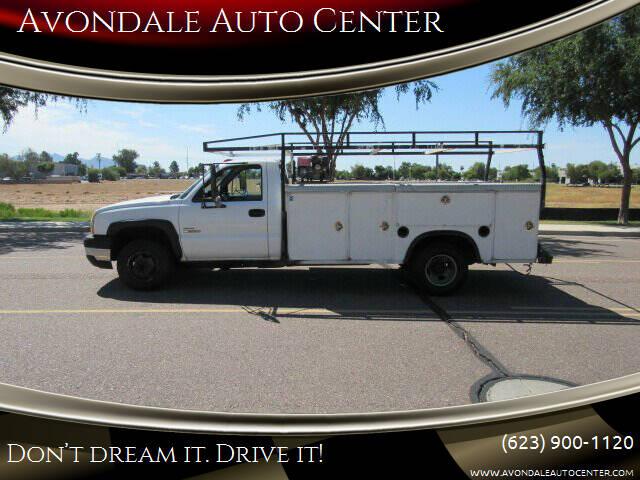 2004 Chevrolet Silverado 3500 for sale at Avondale Auto Center in Avondale AZ