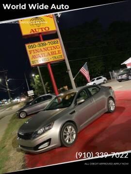 2011 Kia Optima for sale at World Wide Auto in Fayetteville NC