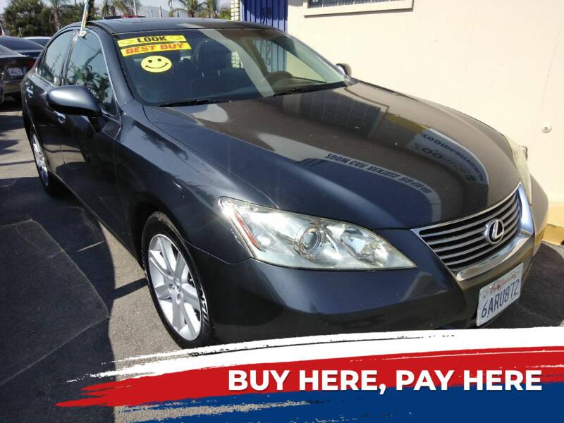 2008 Lexus ES 350 for sale at ZOOM CARS LLC in Sylmar CA