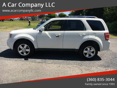 2010 Ford Escape for sale at A Car Company LLC in Washougal WA