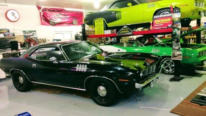 1971 Plymouth Barracuda for sale in Cadillac, MI