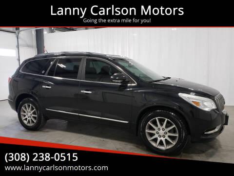 2014 Buick Enclave for sale at Lanny Carlson Motors in Kearney NE