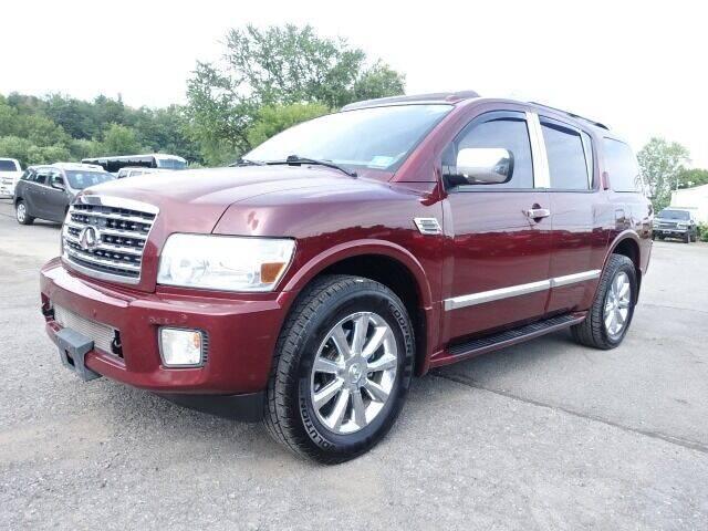 2009 Infiniti QX56 for sale at Simply Motors LLC in Binghamton NY