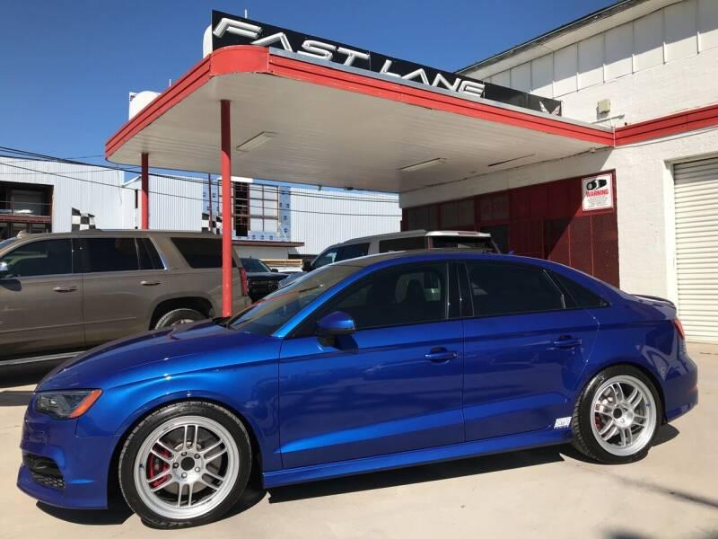 2016 Audi S3 for sale at FAST LANE AUTO SALES in San Antonio TX